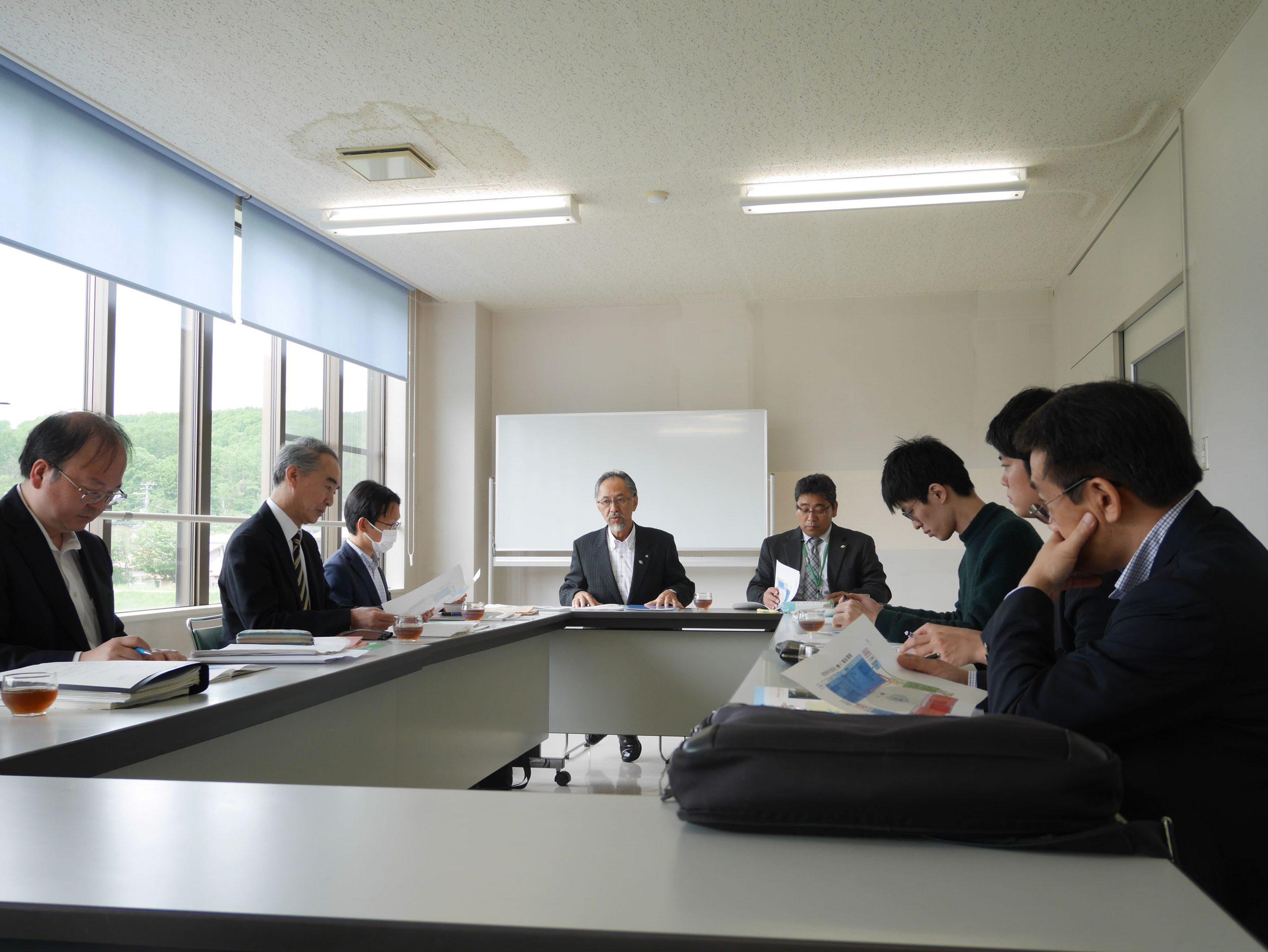訪問先 :喜茂別町役場<br /> 関連科目:社会調査法<br />      Research Methodology