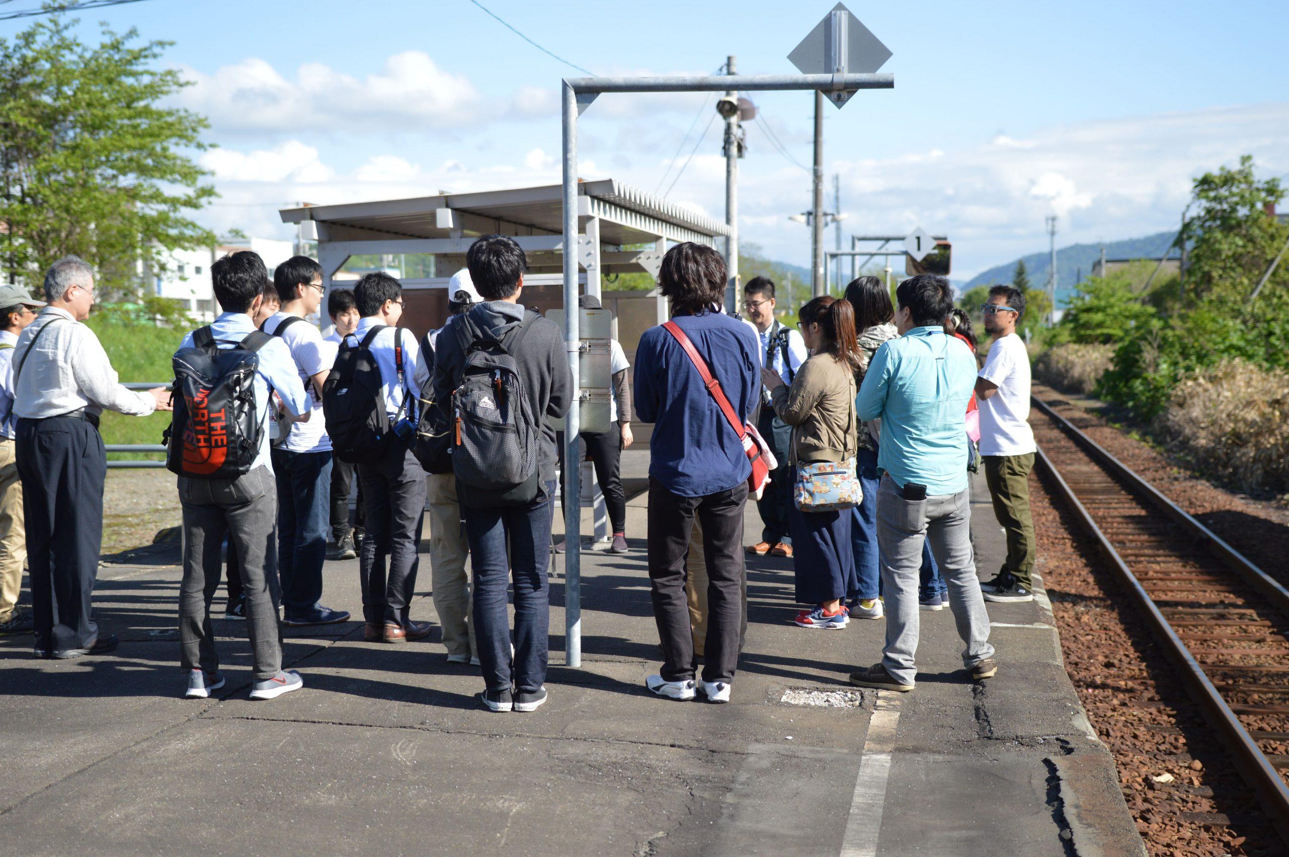 訪問先 :清水沢駅<br /> 関連科目:社会調査法<br />      Research Methodology