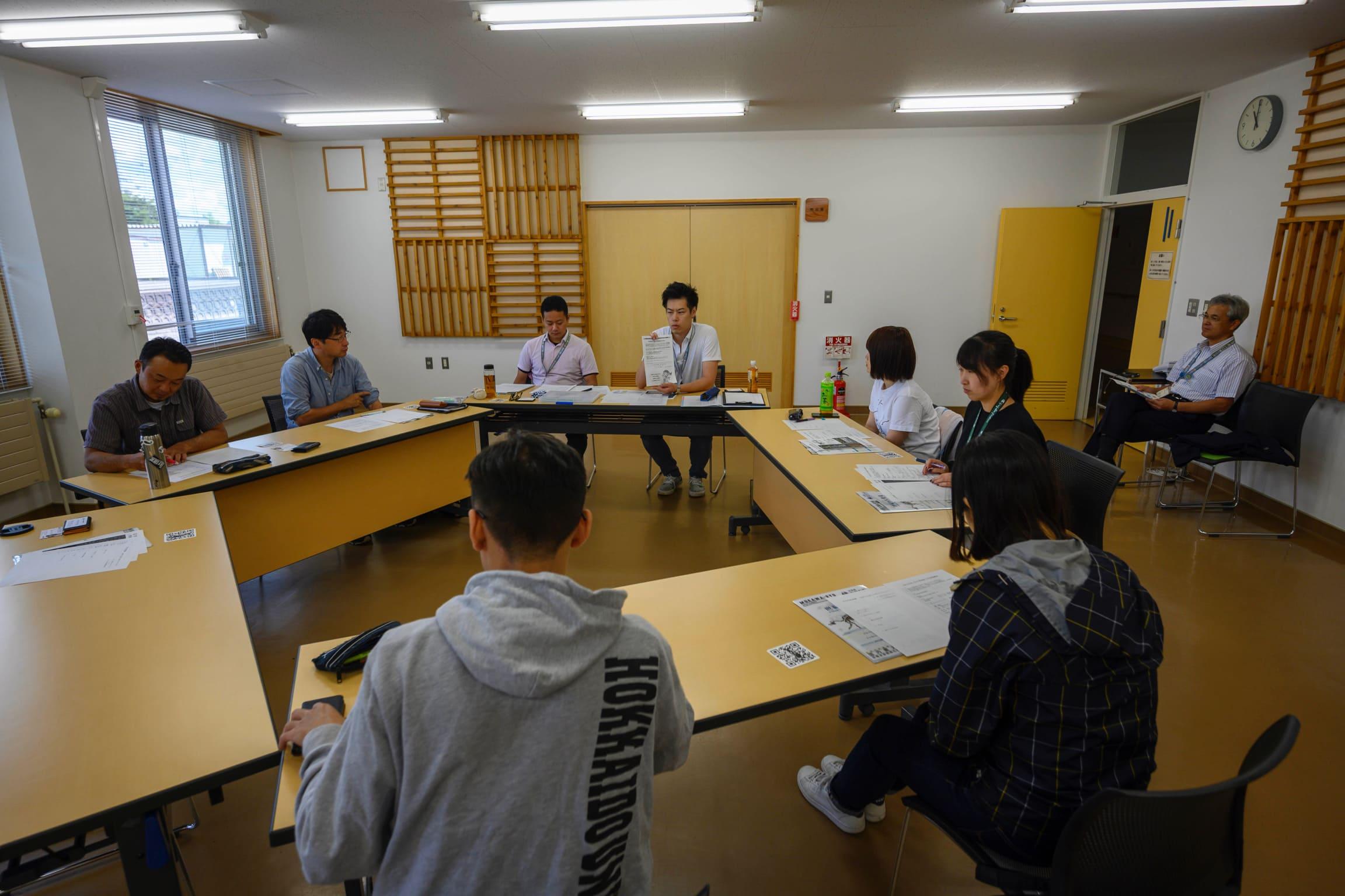 訪問先 :むかわ町穂別総合支所<br /> 関連項目:Study Tour