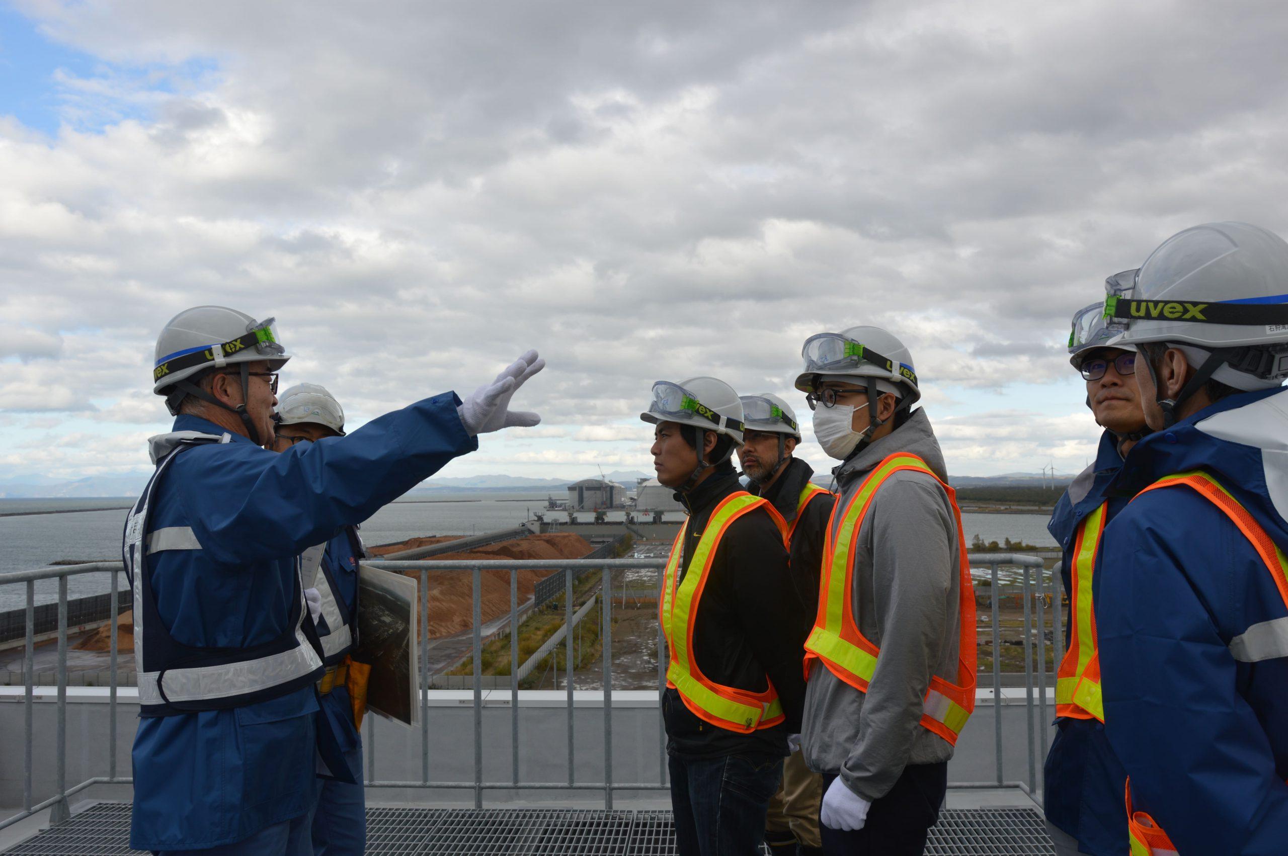 訪問先 :北電石狩湾新港発電所<br /> 関連科目:環境政策論<br />      Environment Policy