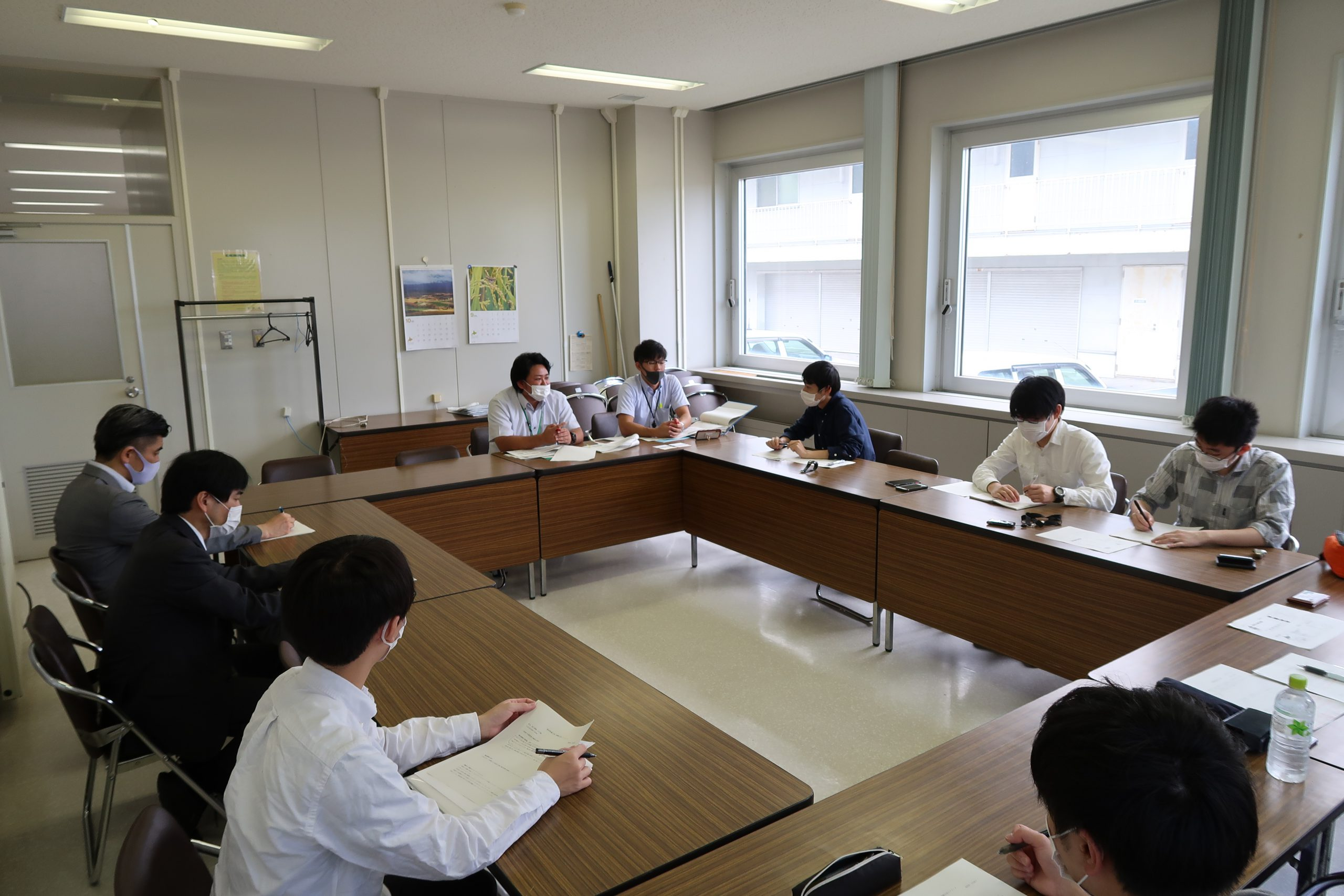 訪問先 :厚岸町役場<br /> 関連科目:社会調査法<br />      Research Methodology