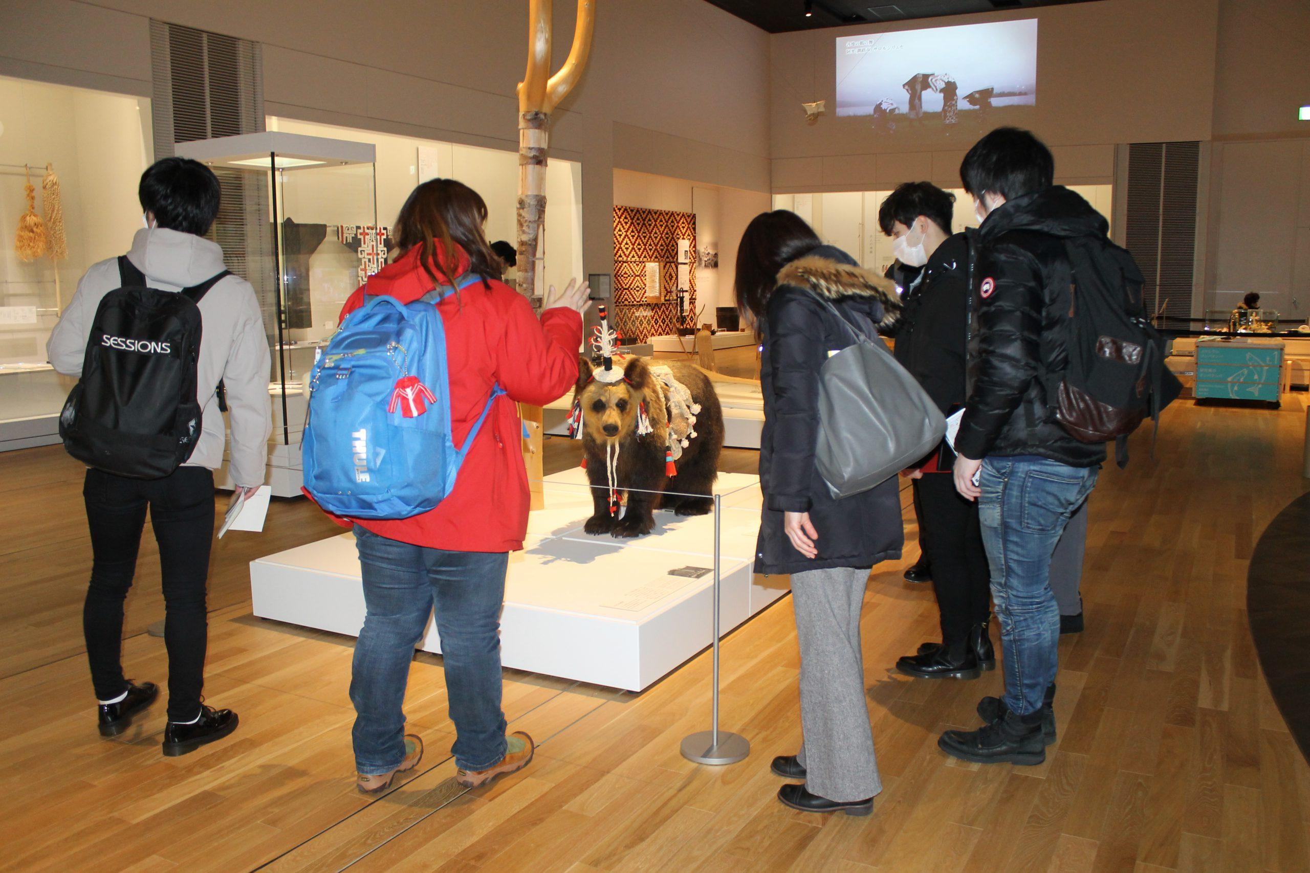 訪問先 :国立アイヌ民族博物館<br /> 関連科目:Study Tour