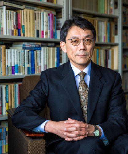 Mamoru Sorai, the Dean of the Graduate School of Public Policy